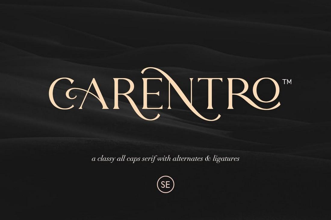 Carentro - Classy Serif Font