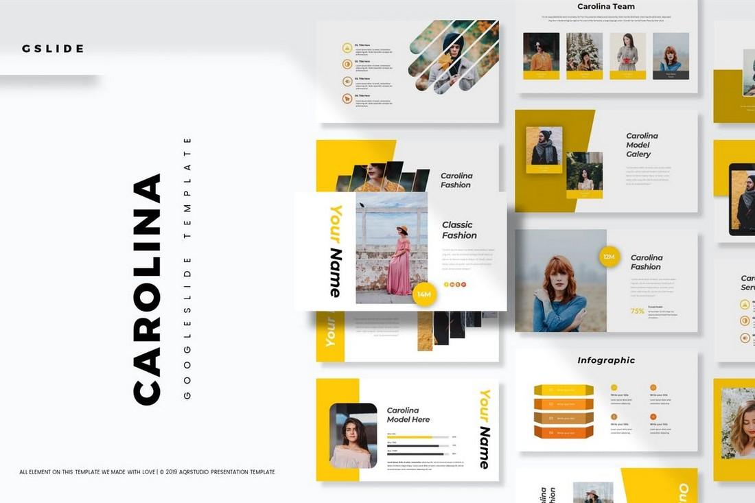 Carolina - Agency Google Slide Template