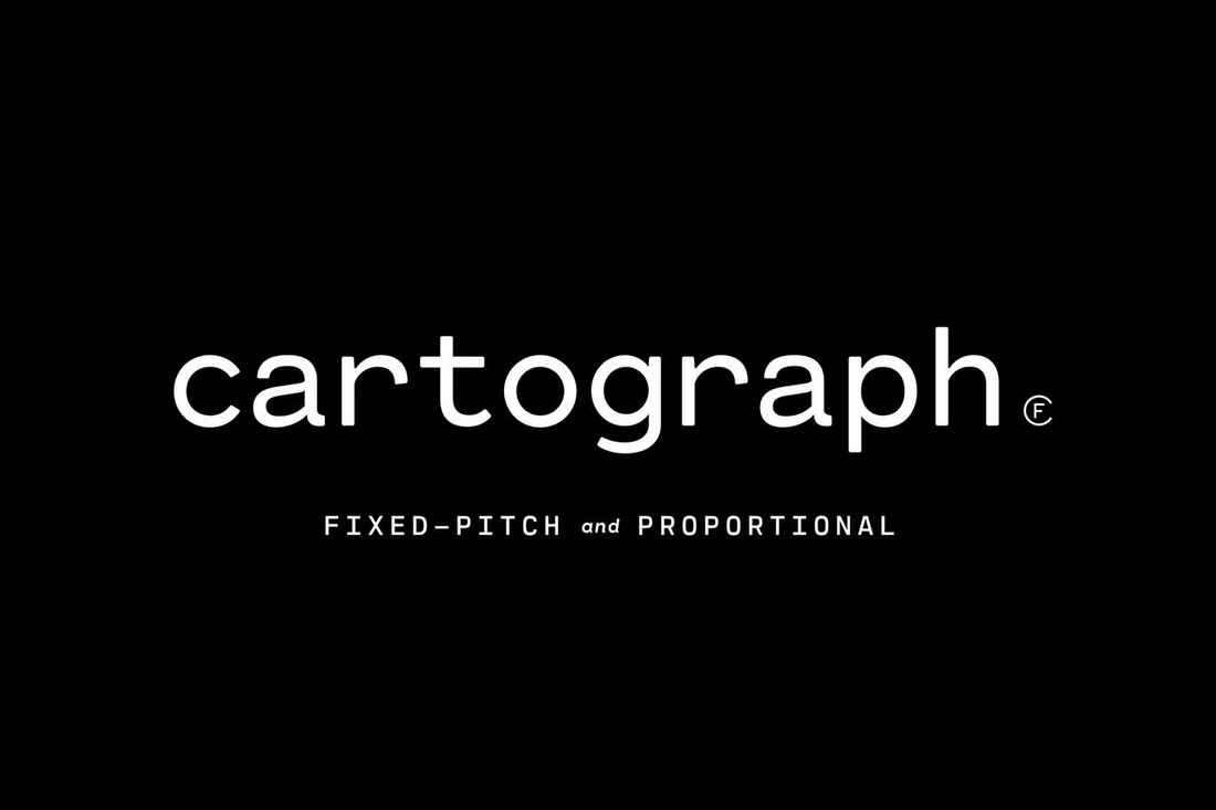 Cartograph-CF 10+ Professional Monospaced Fonts for Designers design tips
