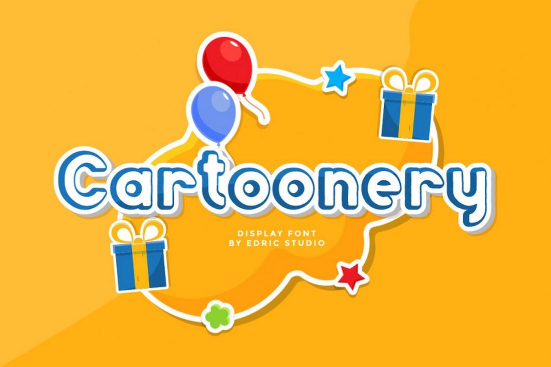 Cartoonery - Free Cartoon Font