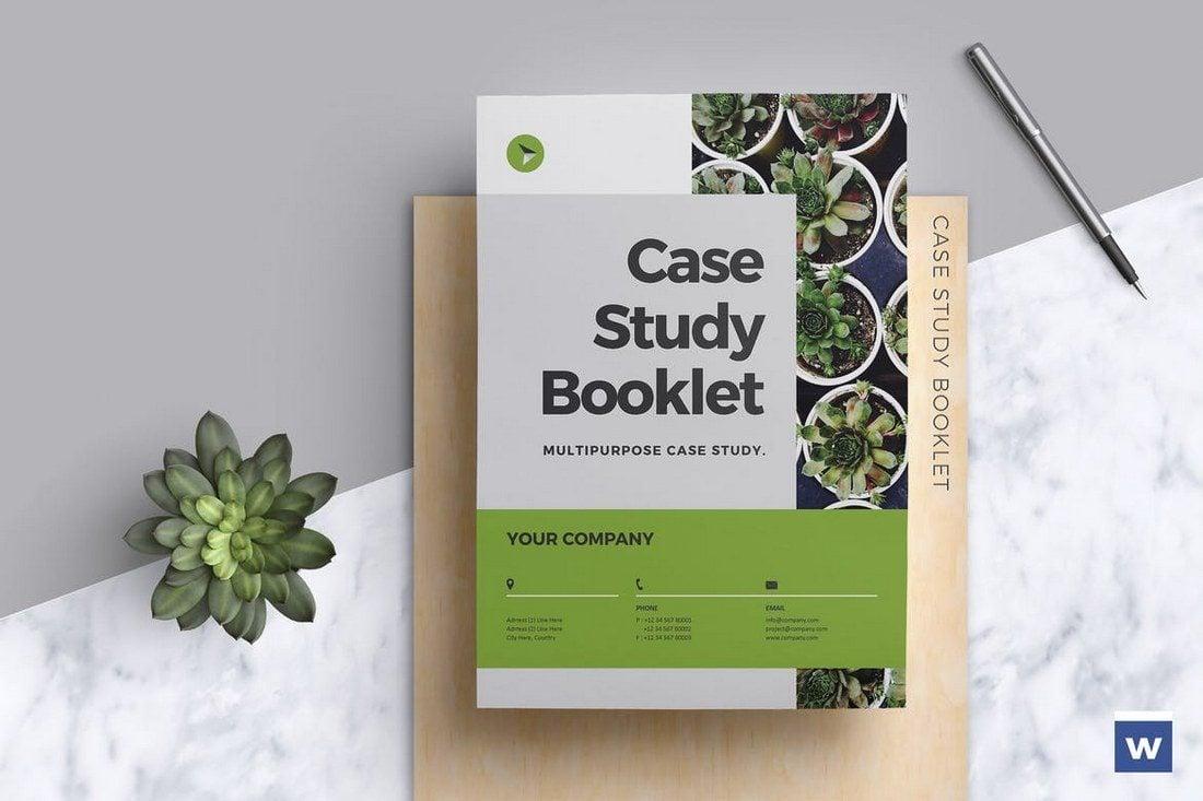 Case-Study-Booklet 40+ Best Microsoft Word Brochure Templates 2021 design tips