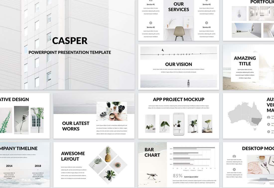 Casper - Free Powerpoint Presentation Template
