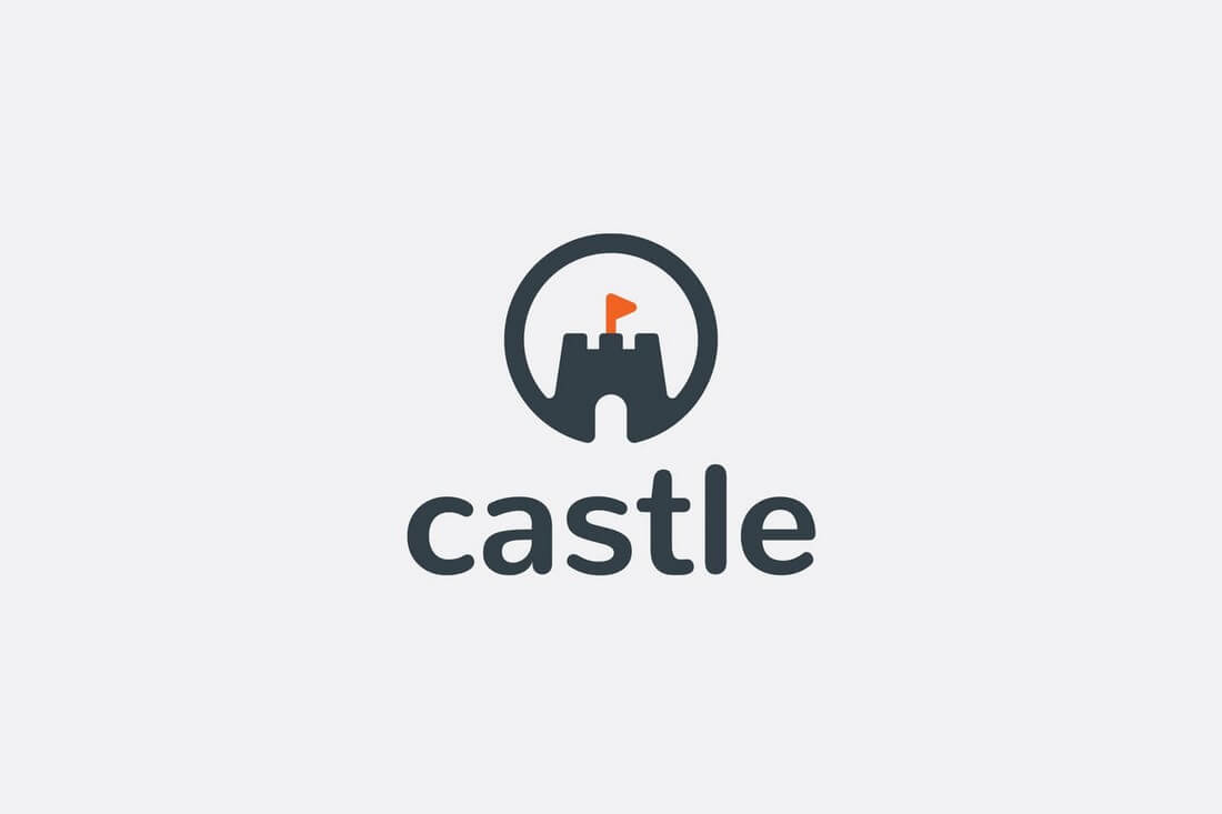 Castle-Logo 50+ Best Minimal Logo Design Templates design tips