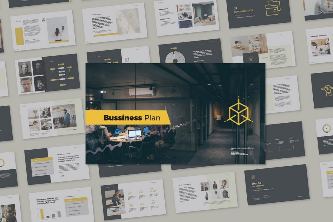 Cd Bussiness Proposal Presentation Template