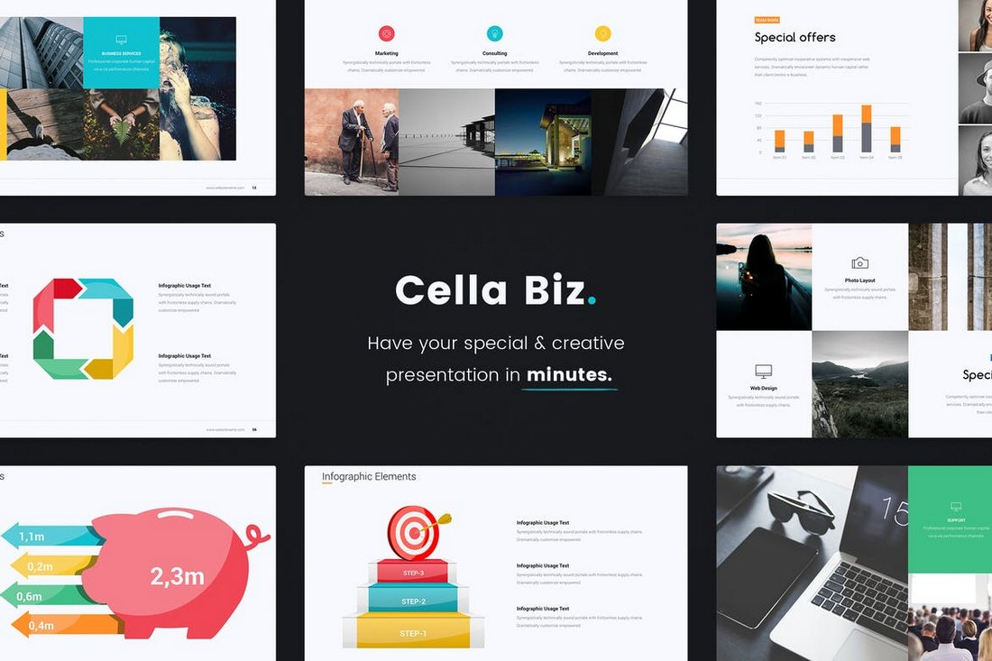Cella-PitchDeck-Template 20+ Modern Professional PowerPoint Templates design tips