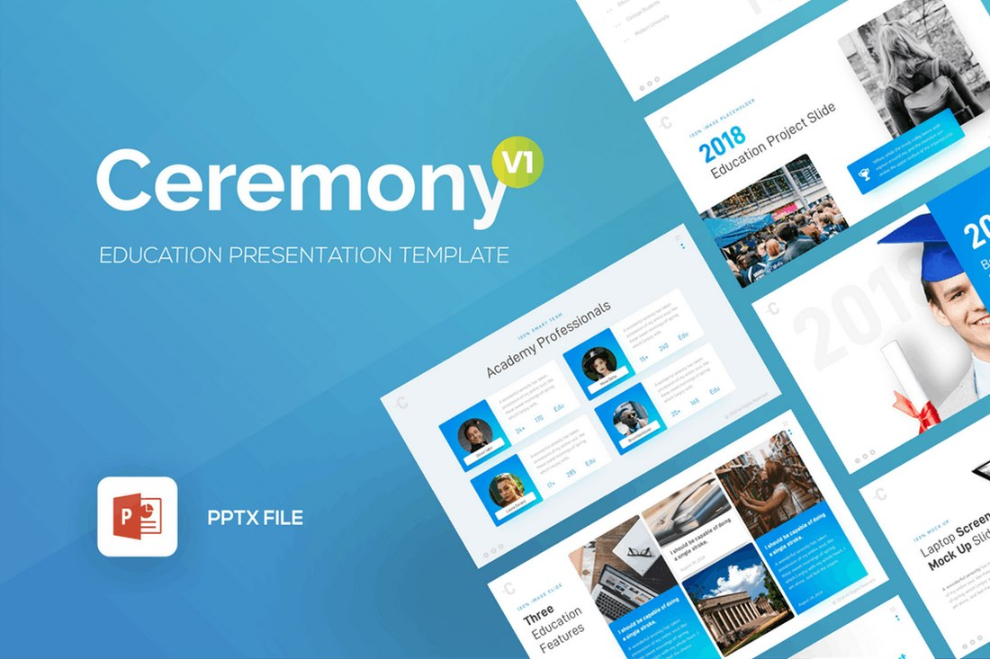 Ceremony - Education PowerPointPresentation