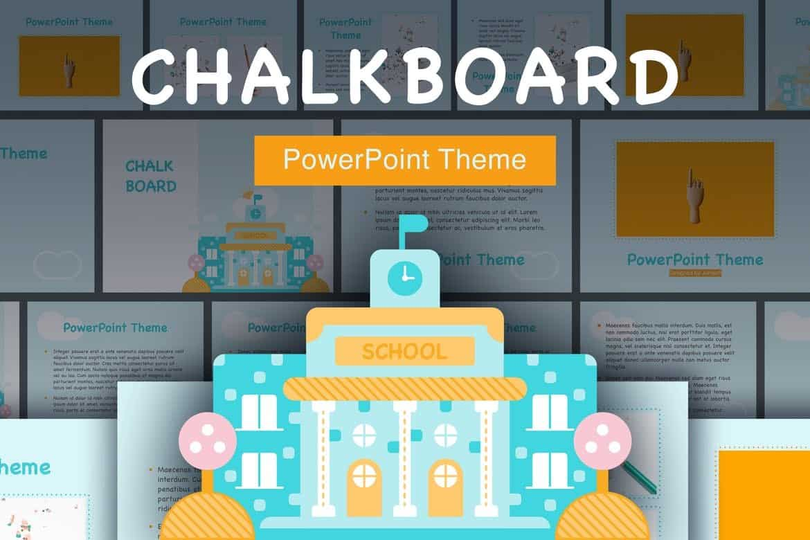 Chalkboard - Fun & Playful PowerPoint Template