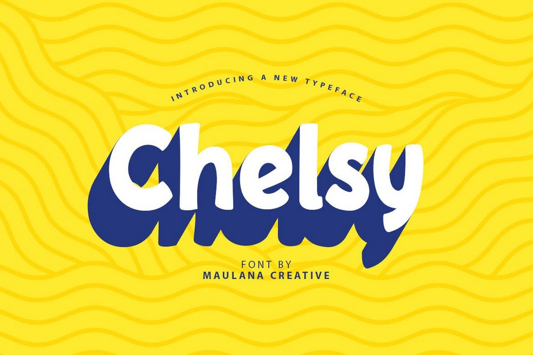 Chelsy-Fun-Creative-Display-Font 30+ Best Fonts for Posters design tips