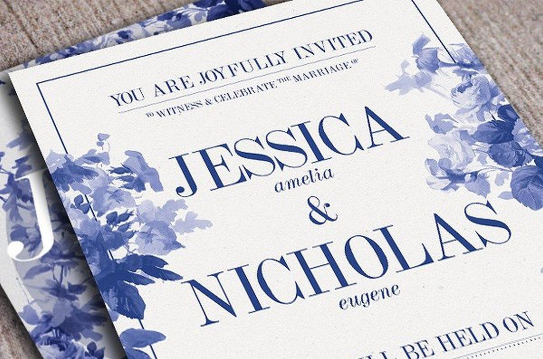 90+ Gorgeous Wedding Invitation Templates | Design Shack