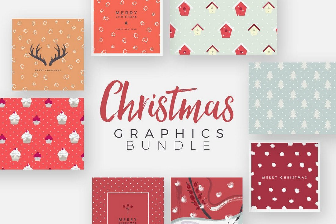 Christmas Cards & Graphics Bundle