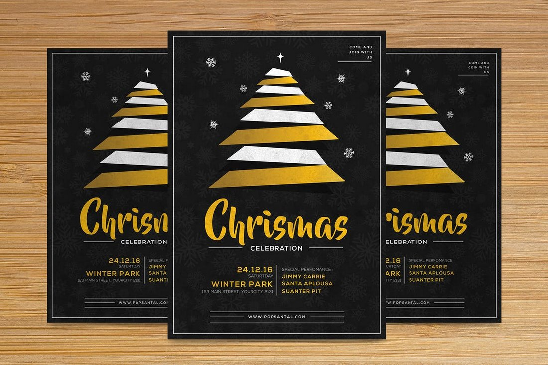Christmas-Flyer-Church-Bulletin-Template 20+ Church Bulletin & Newsletter Templates design tips