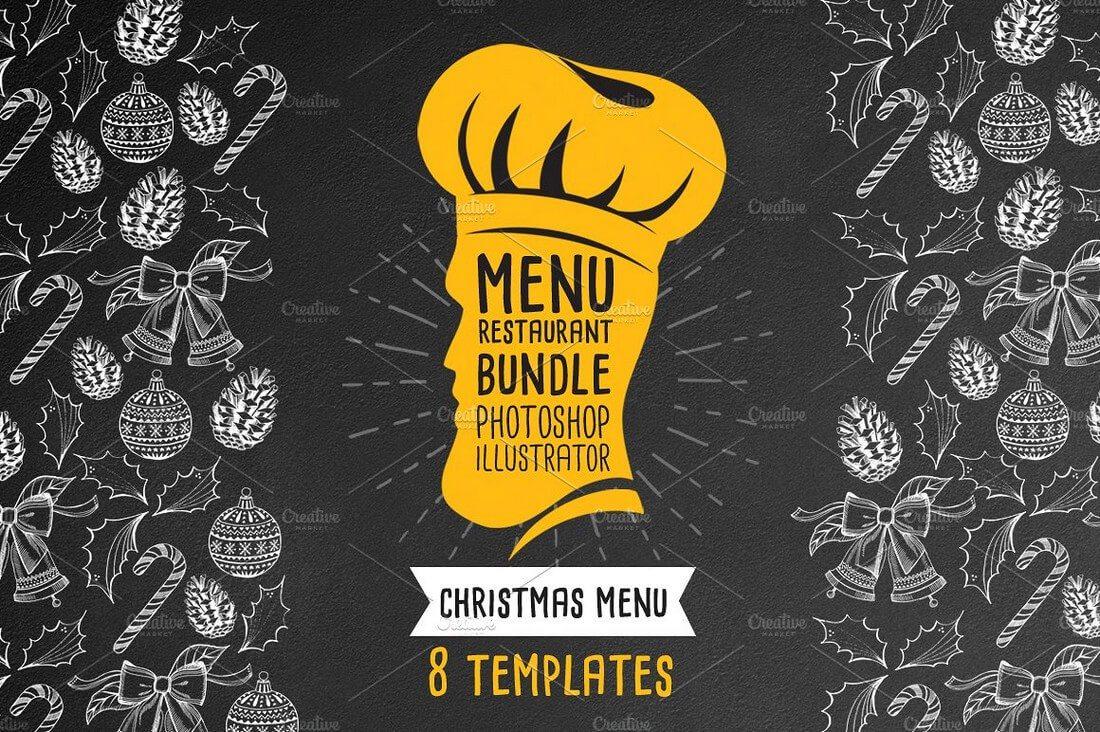 30+ Best Food & Drink Menu Templates | Design Shack