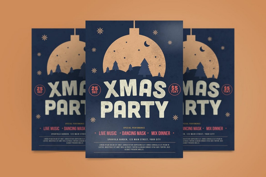 Christmas Party & Event Flyer Template