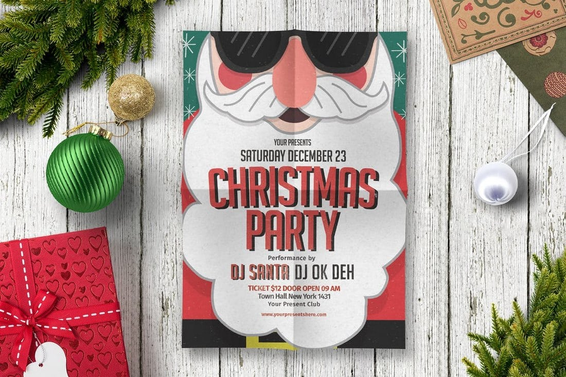 Christmas-Party-Flyer 30+ Best Event Flyer Templates design tips