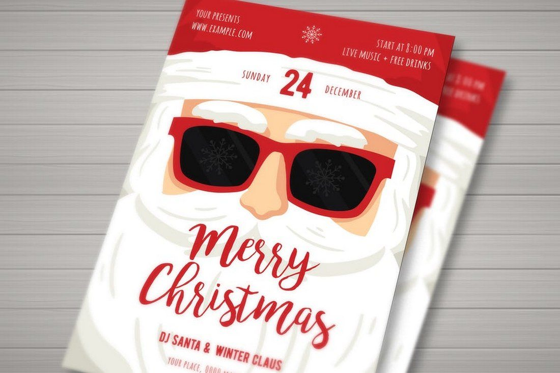 Christmas-Santa-Claus-Flyer 70+ Christmas Mockups, Icons, Graphics & Resources design tips