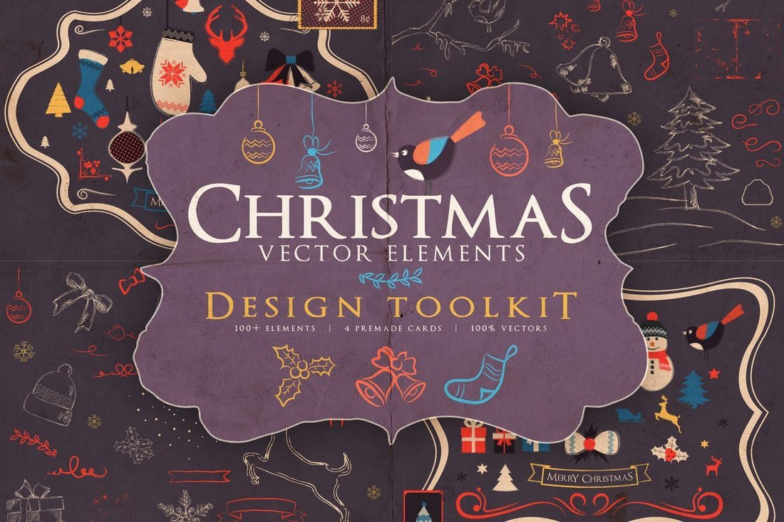 Christmas Vector Elements Toolkit