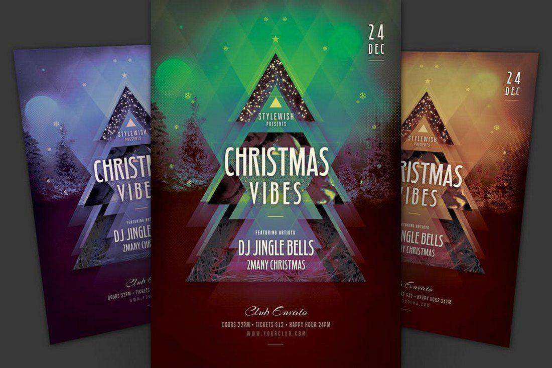 Christmas-Vibes-Flyer-Template 70+ Christmas Mockups, Icons, Graphics & Resources design tips