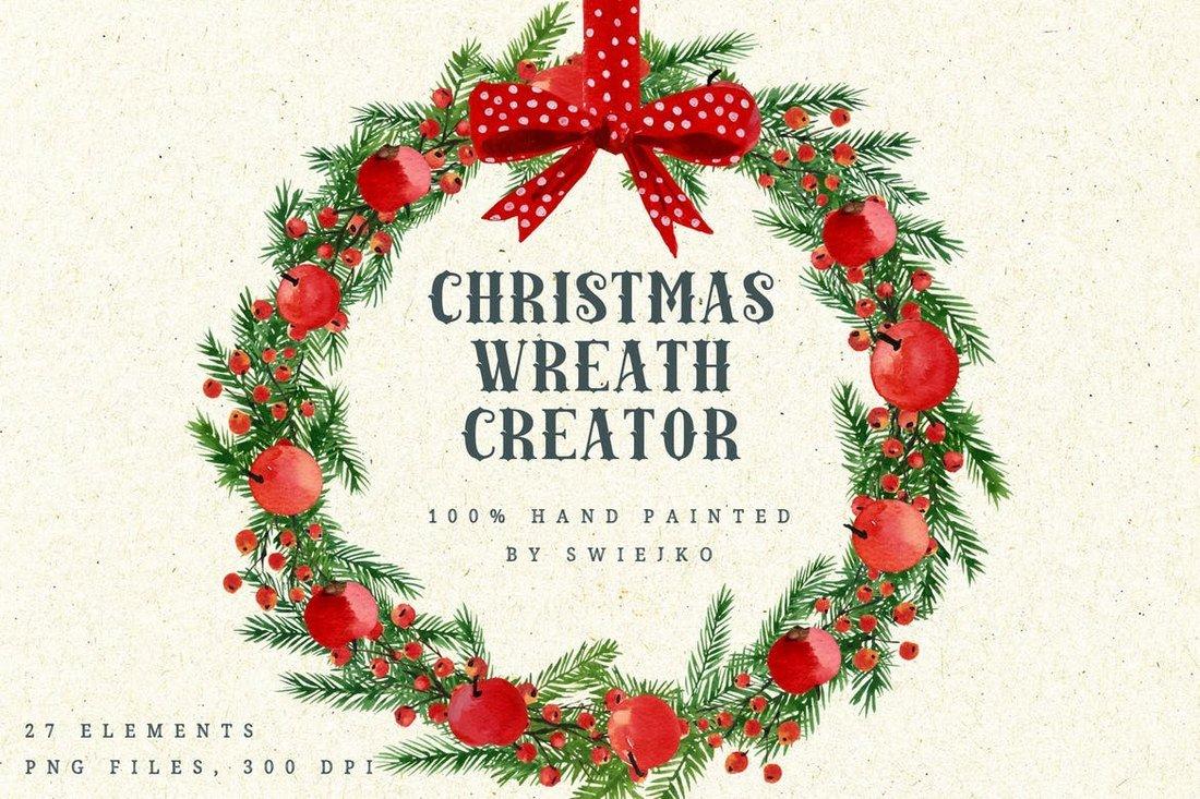 Créateur de guirlande de Noël