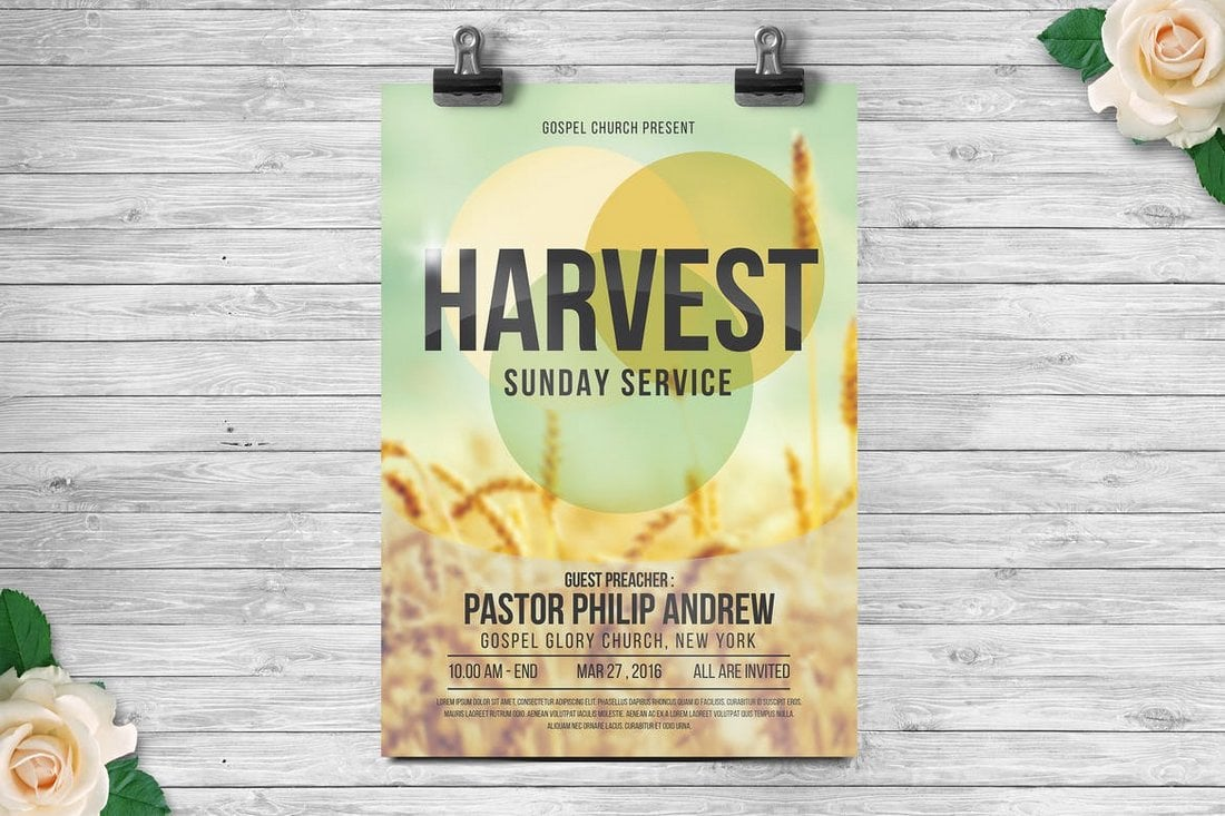 Church Gospel Flyer