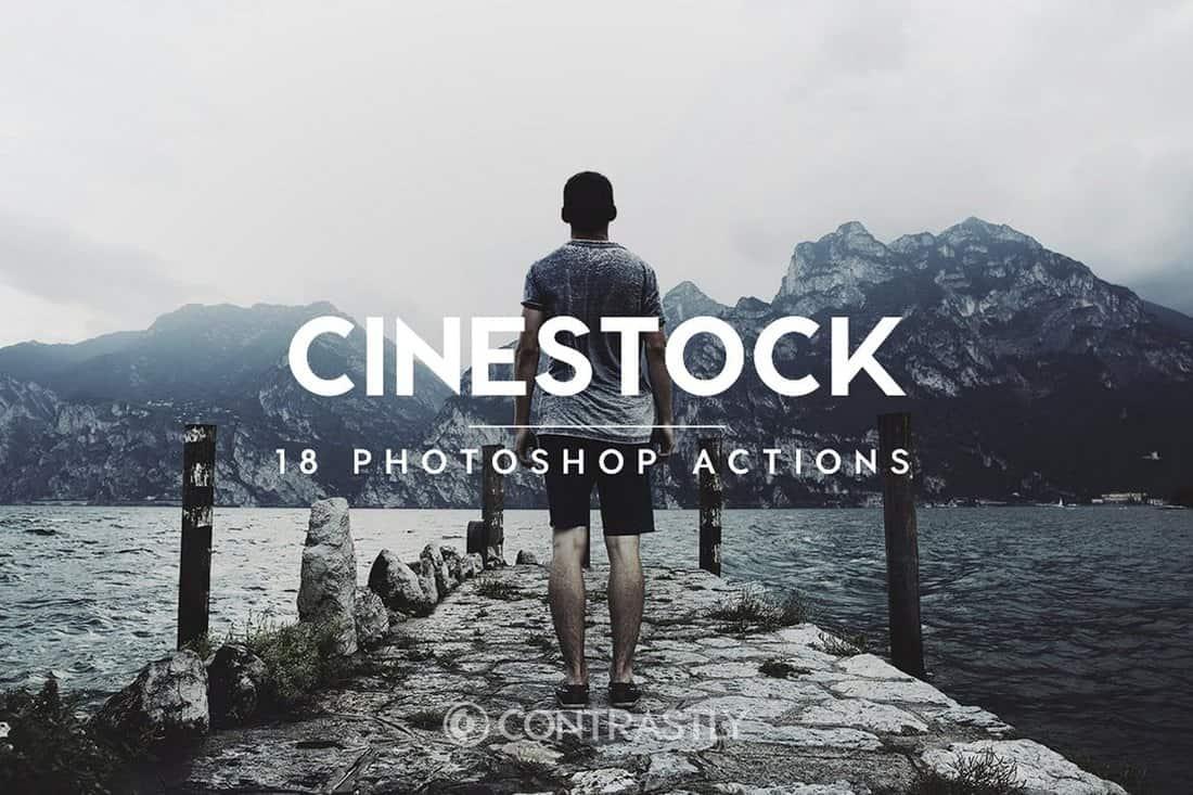 CineStock Film Photoshop Actions