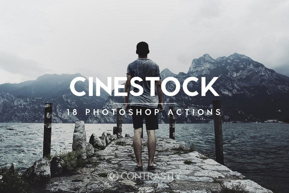 CineStock Moody Photoshop Actions