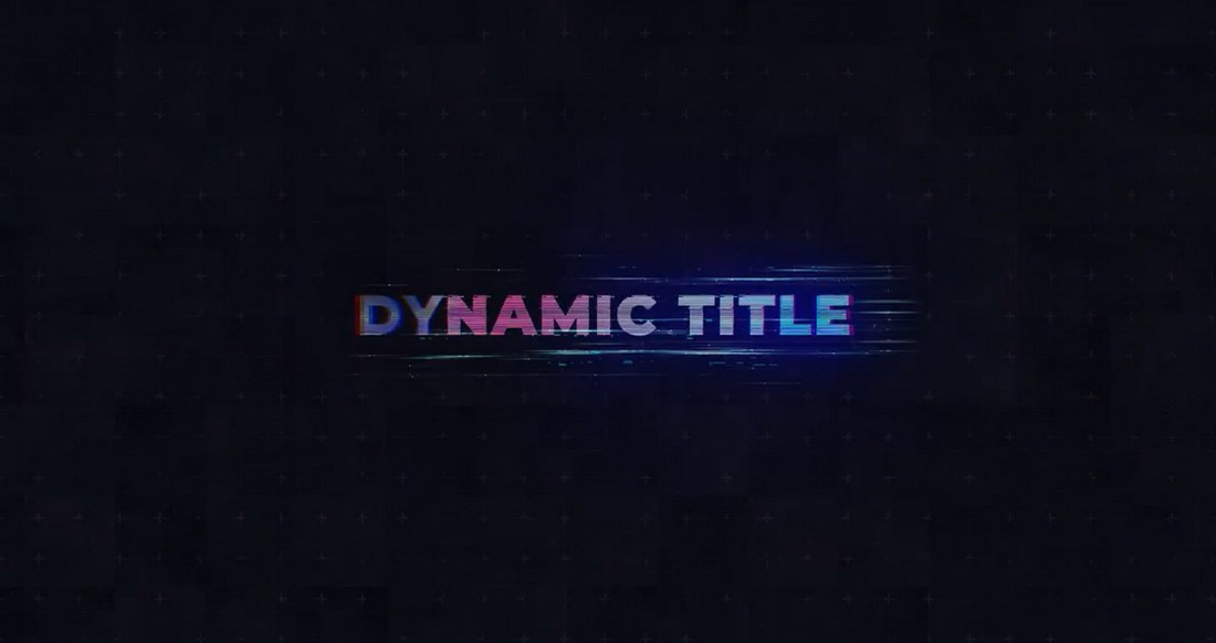 Cinematic 80's Style Free After Effects Title Template
