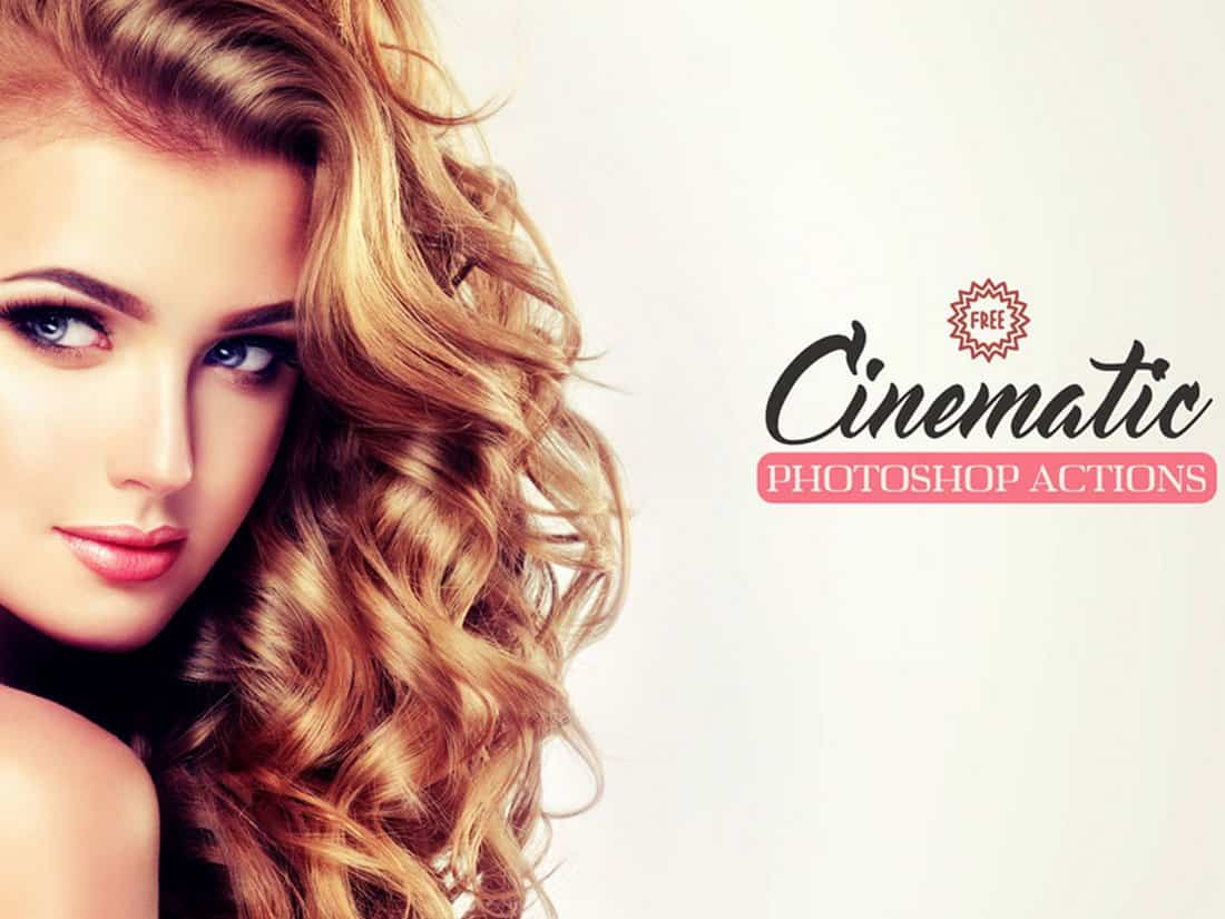 Cinematic Free Portrait Photoshop Action