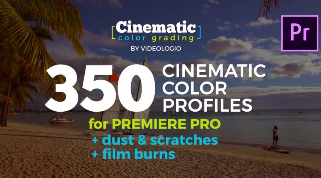 Cinematic LUTs for Premiere Pro & After Effects