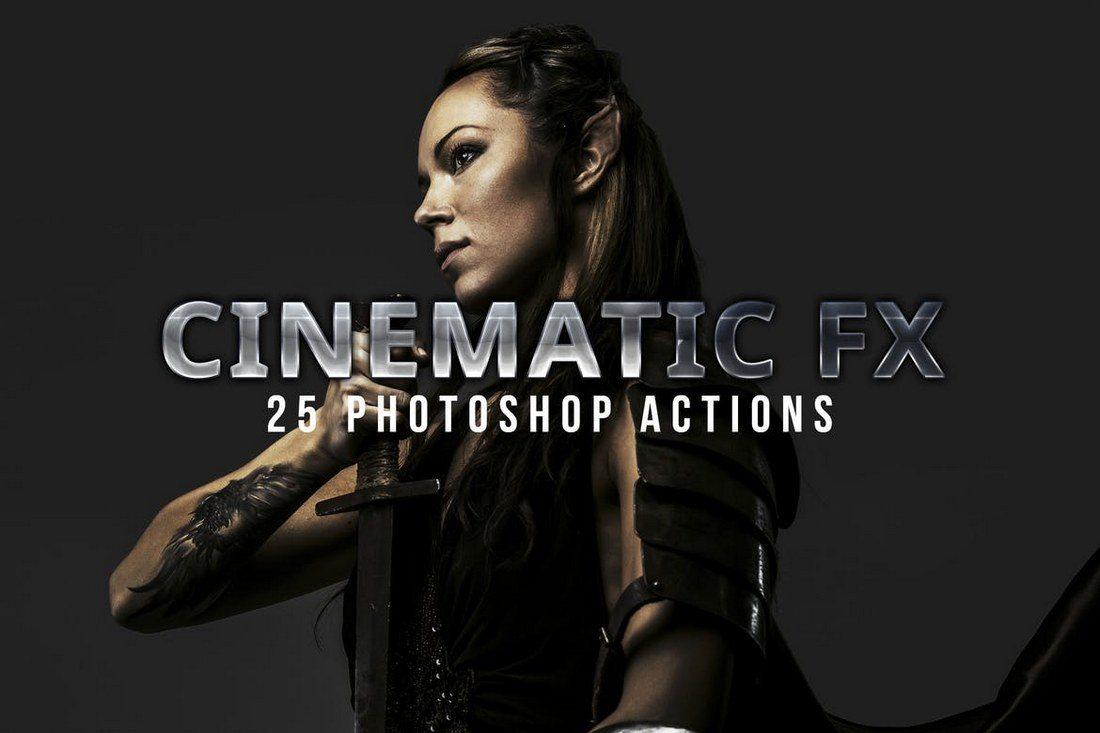 Cinematic-Photoshop-Actions 20+ Best Portrait Photoshop Actions design tips