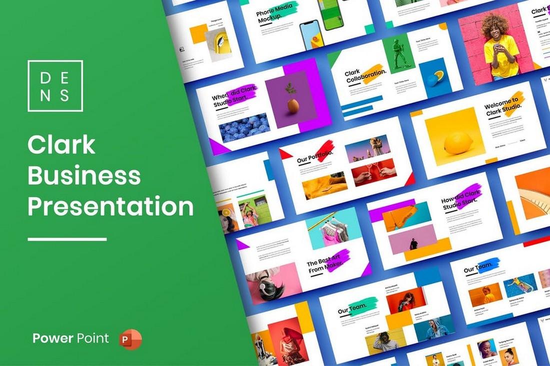 Clark – Creative Business PowerPoint Template