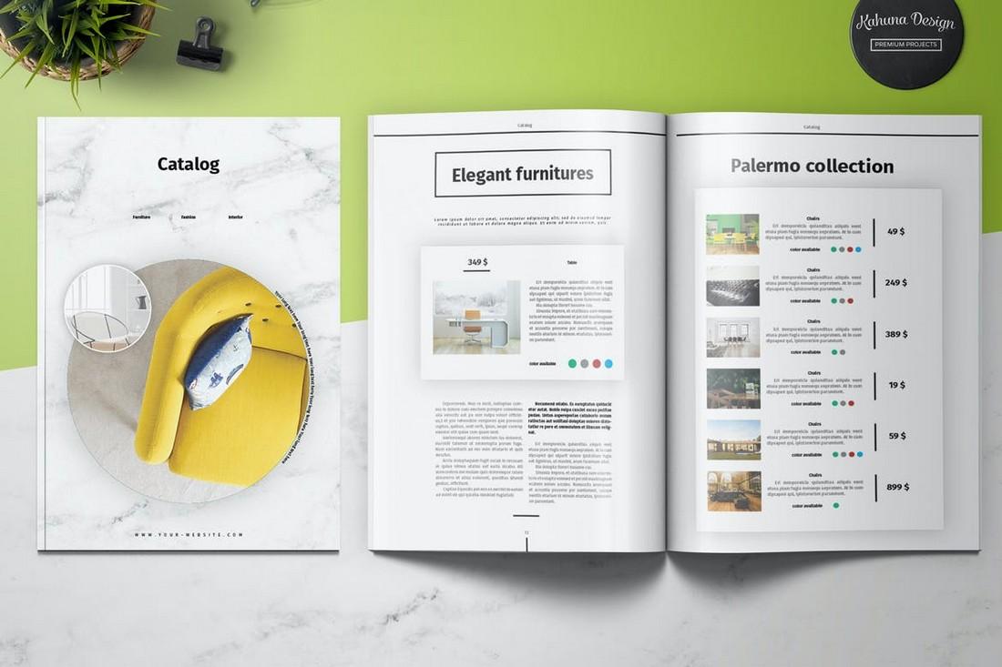 Classic-Product-Catalog-Template 22+ Best Lookbook & Catalog Templates (Free & Premium) design tips
