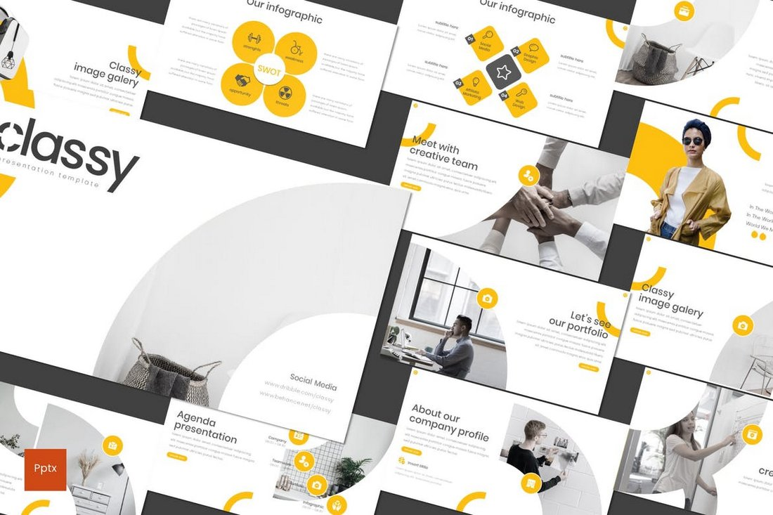 Classy-Modern-PowerPoint-Template 50+ Best Keynote Templates of 2021 design tips