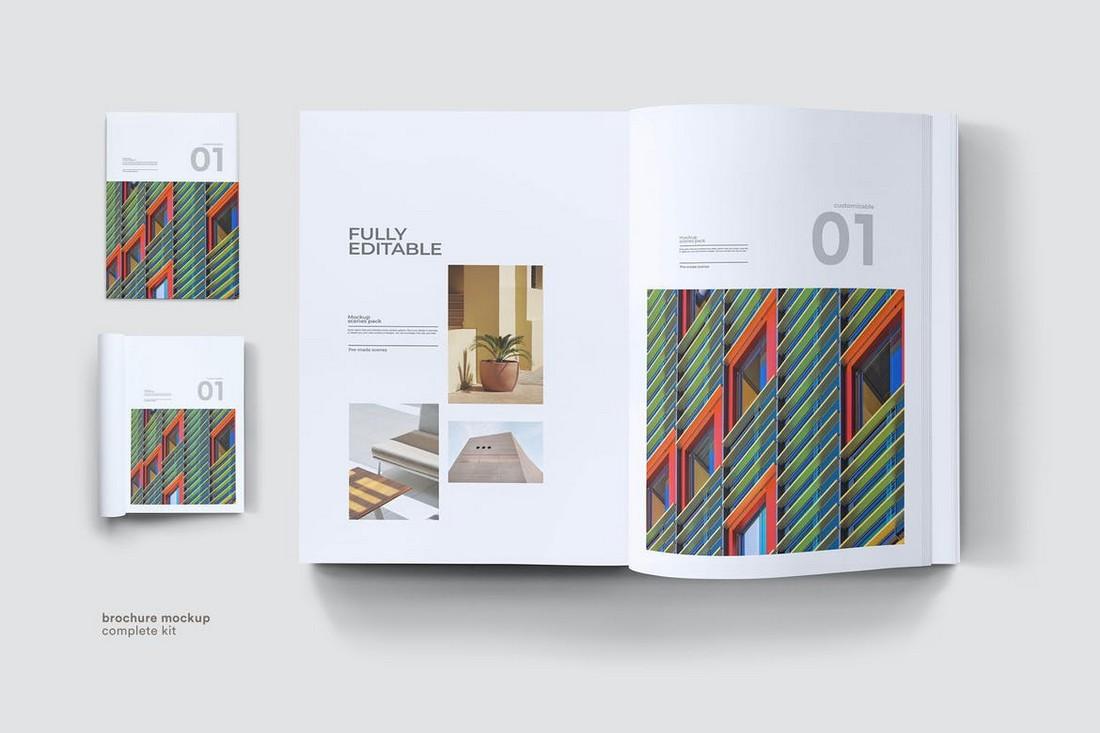 Clean Brochure Mockup Template