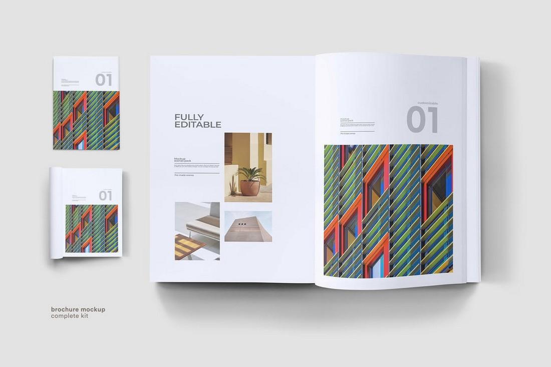 Clean Brochure Mockup