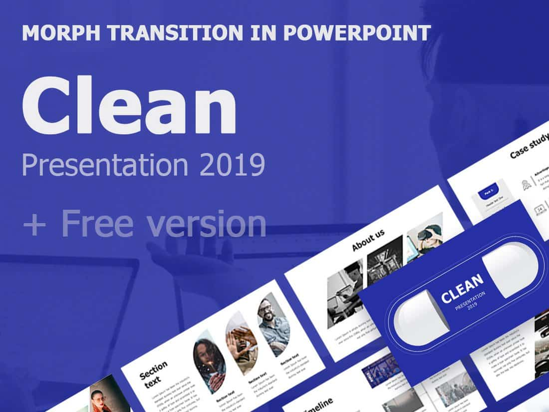 Clean - Free PowerPoint Presentation Template