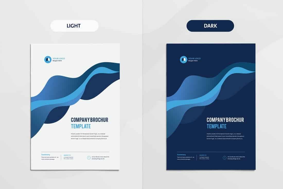Clean & Modern Multipurpose Brochure Template