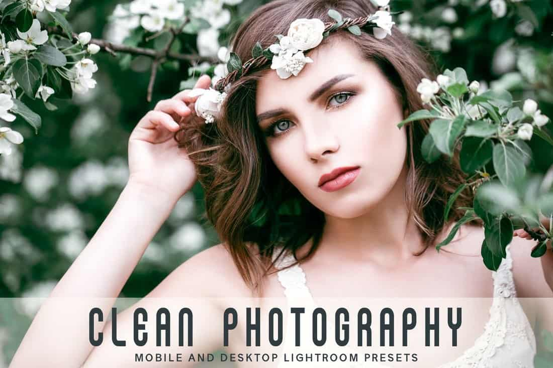 Clean Photography Lightroom Presets