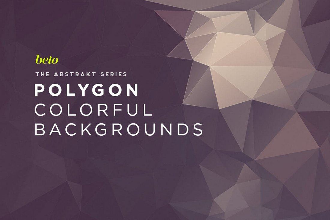Clean Polygon Abstract Backgrounds