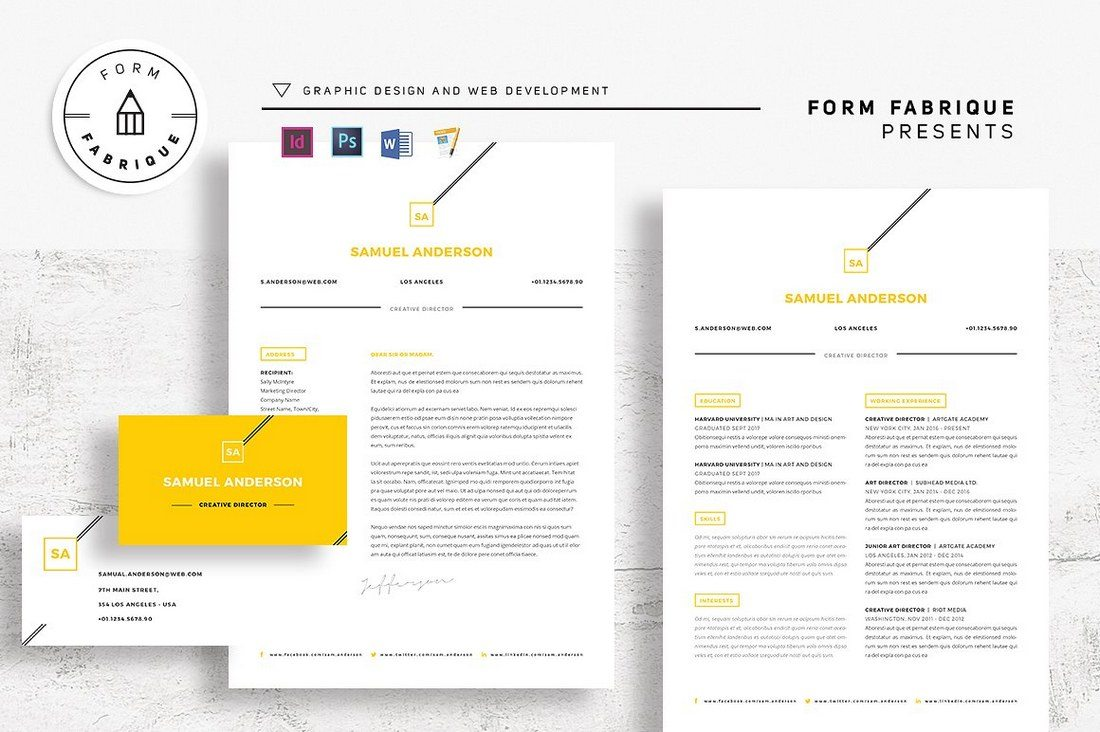Best Pages Resume  Cv Templates  Design Shack
