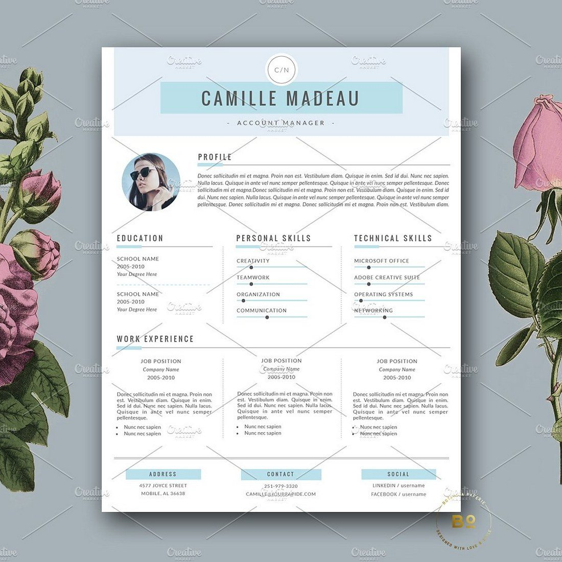 Clean-Resume-for-MS-Word-Pages 20+ Best Pages Resume & CV Templates design tips