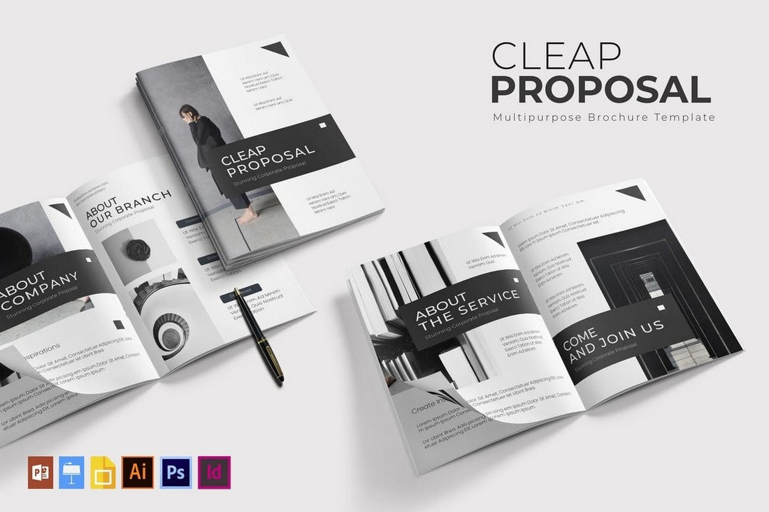 Cleap - Minimal Brochure Template