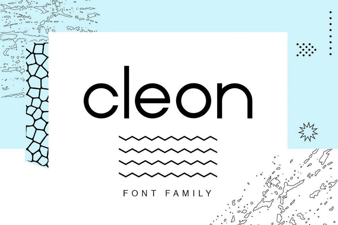Cleon Sans font