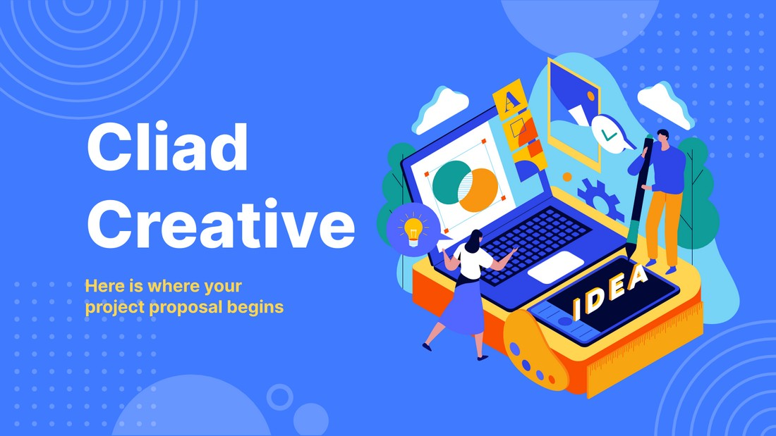 Cliad - Free Creative Project Proposal Template