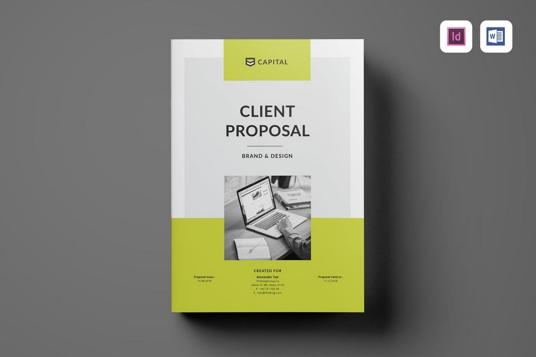 Client-Proposal-Word-Brochure-Template 40+ Best Microsoft Word Brochure Templates 2020 design tips  Inspiration|brochure|templates