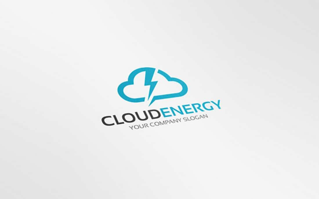Cloud Energy Free Logo Template 2