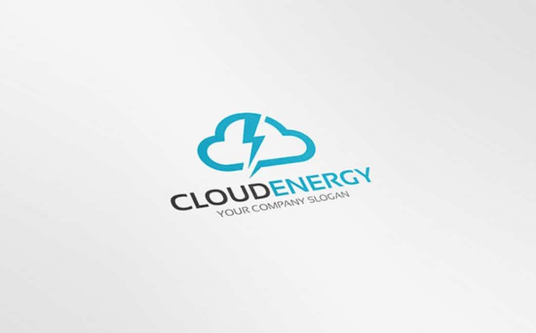 Cloud Energy Free Logo Template 2