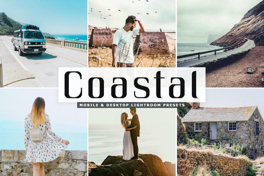 Coastal-Mobile-Desktop-Lightroom-Presets 40+ Best Landscape Lightroom Presets 2020 design tips  Inspiration|landscape|lightroom