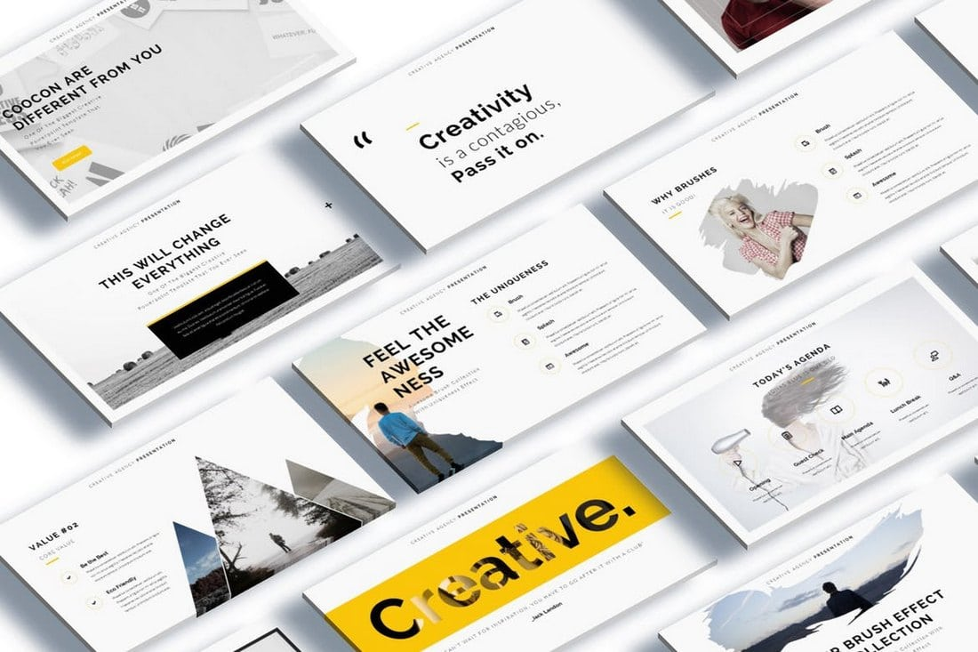 Cocoon-Creative-Google-Slide-Template 35+ Best Google Slides Themes & Templates 2019 design tips