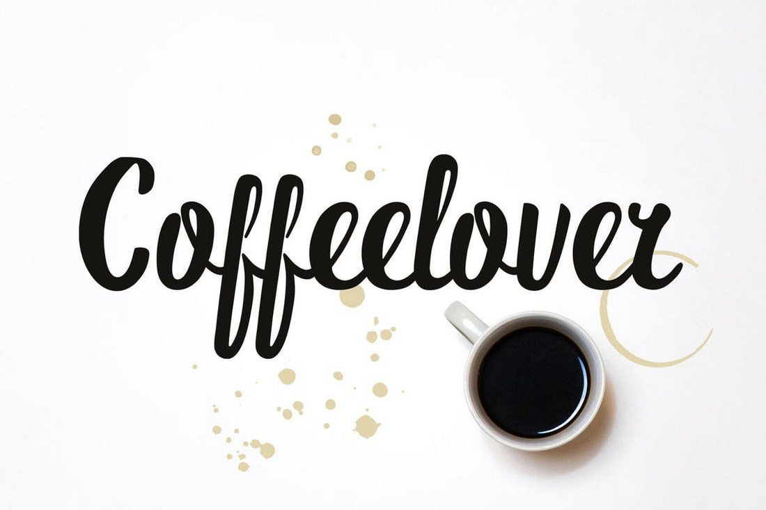 Coffeelover-Font 30+ Best Cursive & Script Fonts design tips