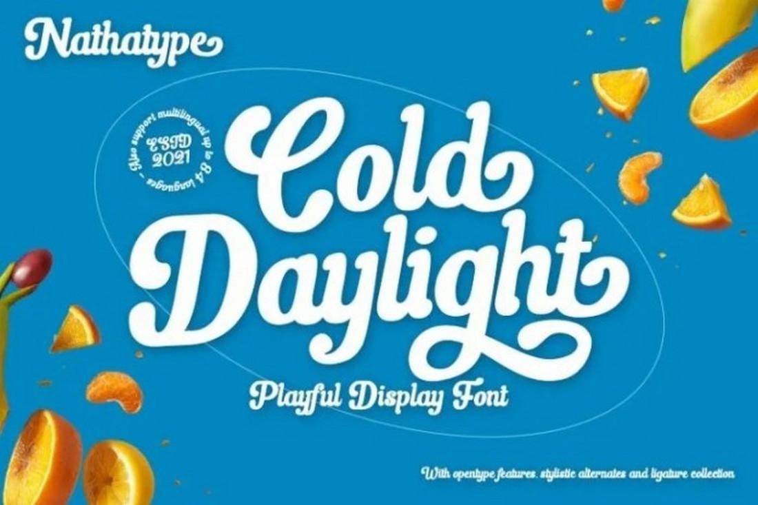 Cold Daylight - Free Playful Display Font